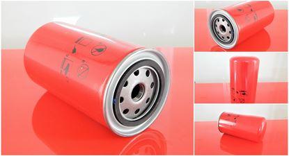 Obrázek olejový filtr šroubovací patrona do Caterpillar bagr M 315 C motor Perkins 3054E částečně filter filtre