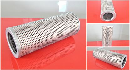 Obrázek hydraulický filtr (bez bypass) pro Yanmar minibagr VIO 35-2 motor Yanmar 3TNE82A-EBVC filter filtre