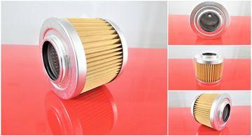 Obrázek hydraulický filtr sací filtr pro Hanix minibagr N 300-2 motor Mitsubishi K4E filter filtre