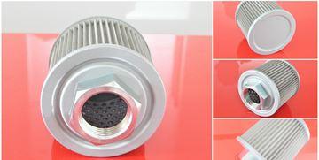 Obrázek hydraulický filtr sací filtr pro Takeuchi TB215R motor Yanmar 3TNV70-PTB1R filter filtre