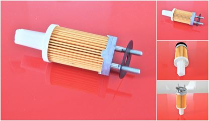 Obrázek palivový filtr + těsnění pro Ammann vibrační pěch ADS 70 ADS70 ADS-70 s motorem Yanmar L48N L40N L60N L70N L70N5S L75 L90N L100AE L100N nahradí originál 114250 - 55121 SK3616/1 filter filtre