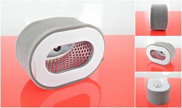 Obrázek vzduchový filtr oval do Rammax DS 68 motor Yanmar L 40 filter filtre