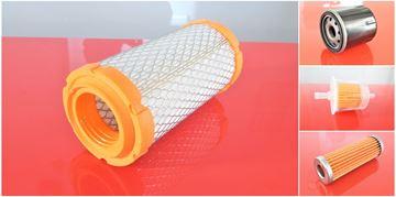 Obrázek servisní sada filtrů filtry pro Kubota K008-3 K008.3 K008/3 s motorem Kubota Set1 filter 1x palivový 1x potrubní 1x vzduchový 1x olejový filtre