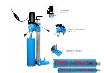 Imagen de Core Drilling System Tyrolit DRS162 Hydrostress ** Perforación de hasta 162 mm - perforación de núcleo de la perforadora - también disponible DME19DP DME20SU DME20PW DME20PU DME24MW DME24UW DME33MW DME33UW DME52UW DRA150 DRU160 DRA250 I DRU250 DRU350 DRA400 I DRU400 DRA500 BC-2