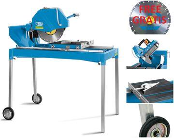 Obrázek Tyrolit TBE350 TBE 350 Hydrostress stolní pila na zdivo ** hloubka řezu 110mm - Steintrennsäge masonry saw table saw - v akční nabíce další např.  TRE250 TME700 TME1000