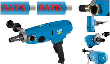 Imagen de Perforadora de núcleo Perforadora DME20PW Hydrostress ** Perforación de hasta 180 mm - Perforación de núcleo de la perforadora - también se ofrece DME19DP DME22SU DRS160 DRS162 DME20PU DME24MW DME24UW DME33MW DME33UW DME52UW DRA150 DRU160 DRA250 I DRU250 DRU350 DRA400 I DRU400 DRA500 BC-2