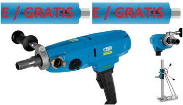 Obrázek SET jádrová vrtačka Tyrolit DME20PW + DRU160 stojan Hydrostress *** vrtání do 180mm - Kernbohrgerät core drilling - v nabíce další např.  DME19DP DME22SU DRS160 DRS162 DME20PU DME24MW I DME24UW DME33MW I DME33UW DME52UW DRA150 DRU160 DRA250 I DRU250 DRU350 DRA400 I DRU400 DRA500 BC-2