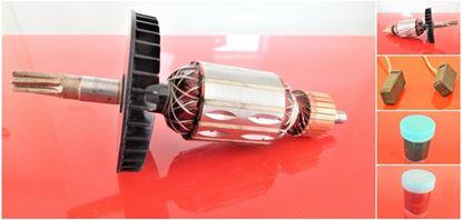 Bild von Anker Rotor Makita HM 0870 0871 C HM0870C HM0871C ersetzt original (ekvivalent) Wartungssatz Reparatursatz Service Kit hohe Qualität Fett und Kohlebürsten GRATIS