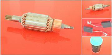 Imagen de rotor de inducido Bosch USH 10 UBH 10 50 USH10 UBH10 UBH50 reemplazar origen / mantenimiento kit de reparación de alta calidad / escobillas de carbono y grasa GRATIS