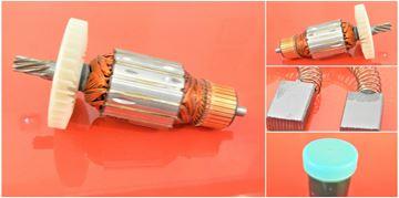Bild von Anker Rotor Makita 5903 R KC 100 ersetzt original 516578-8 (ekvivalent) Wartungssatz Reparatursatz Service Kit hohe Qualität Fett und Kohlebürsten GRATIS