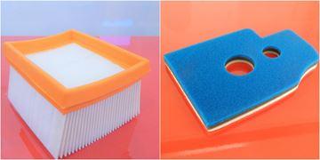Obrázek vzduchový filtr a předfiltr do WACKER BTS930 BTS935 BTS1030 BTS1035 BTS 930 935 1030 1035 nahradí original air filter filtre set kit
