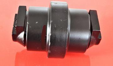 Obrázek pojezdová rolna kladka track roller pro Neuson Wacker 75Z3 s gumovým pásem částečně