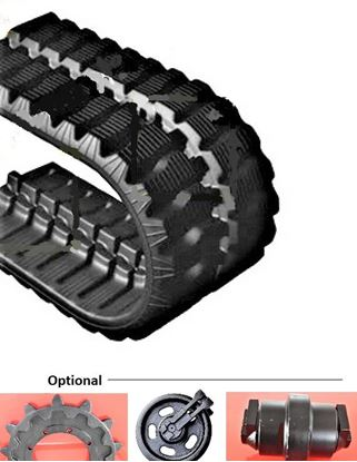 Picture of Rubber track 190x72x37 / 190x37x72