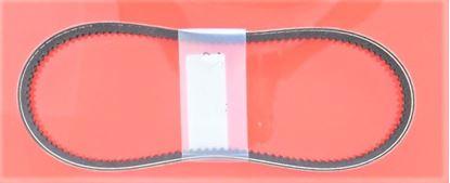 Image de courroie trapézoïdale ceinture en V pour Wacker Neuson DPU4045YE DPU 4045 YE DPU-4045 E avec moteur Yanmar L70N / L70N5S / L705S - qualité OEM - remplacement