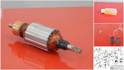 Image de ancre rotor HILTI TE15 TE 15 remplacer l'origine / kit de service de maintenance de réparation haute qualité / balais de charbon et graisse gratuit