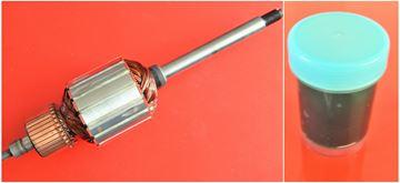 Imagen de rotor de anclaje Rainbow D2 D3 D4 1990-1998 R1 reemplazar original / kit de mantenimiento de reparación de alta calidad / escobillas de carbono y grasa gratis