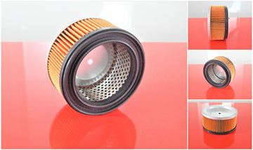 Obrázek vzduchový filtr do BOMAG BP 15/45 motor Robin DXY27D nahradí original BP15/45