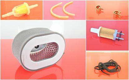 Obrázek sada vzduchový filtr + pred filtr pro Bomag vibrační deska BP 18/45 D-2 BP18/45D-2 s motorem Yanmar Filtersatz filtr filter filtre filtro set satz kit service servis reparatur wartung