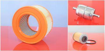 Obrázek sada filtrů do Bomag vibrační desky BPH 80/65 S BPH80/65S s motorem Hatz 1D90W filtr filter filtre filtro set satz kit service servis reparatur wartung