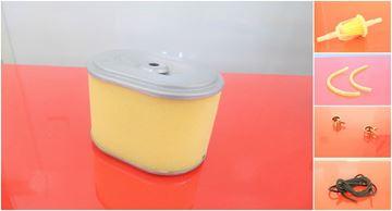 Obrázek sada vzduchový filtr + před filtr pro BOMAG BPR 30/38-3 BPR30/38 s motorem Honda GX160 nahradí original filtr filter filtre filtro set satz kit service servis reparatur wartung