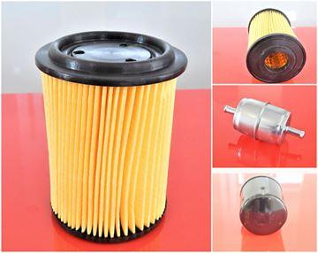 Obrázek servisní opravní filtr sada pro Wacker DPU2440 F DPU 2440 F s motorem Farymann - palivový vzduchový olejový filtr - OEM kvalita - nahradí originál čísla Wacker SET1 filter filtre
