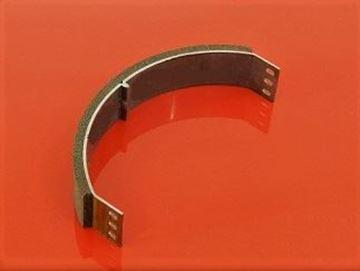 Obrázek destička obložení spojky pro Bomag BP20/48D BP 20/48D vibrační desku 163kg seriové číslo 101670400984 / 1Stck Belagträger für Kupplung / lining for clutch suP