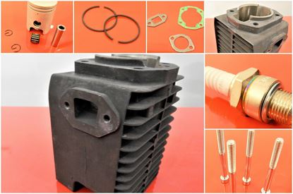 Picture of Cylinder piston seals for Wacker Neuson BS650 BS65V with engine WM80 - catalytic converter version