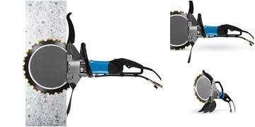 Imagen de Sierra de anillo HRE400 Tyrolit 317 mm de profundidad de corte - sierra de hormigón hidrostática 230V