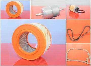Obrázek servisní opravní sada pro Wacker DPU6055 DPU6555 H DPU 6055 DPU 6555 H s motorem Hatz - 1x palivový filtr 1x vzduchový filtr 1x olejový filtr 1x těsnění hlavy 1x klínový řemen - OEM kvalita - nahradí originál čísla Wacker SET1 filter filtre