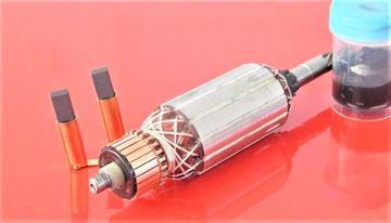 Immagine di rotore ad armatura COLLOMIX CX 100 HF CX100HF sostituire origine / manutenzione kit di servizio di riparazione di alta qualità / spazzole di carbonio e grasso GRATIS