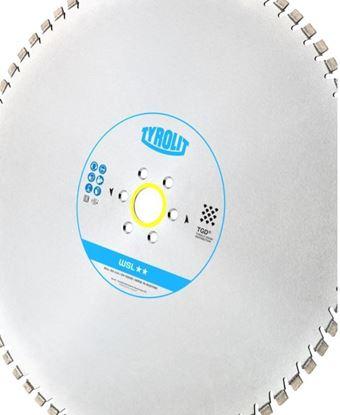 Obrázek Tyrolit diamantový kotouč pro stěnové pily Hydrostress a Tyrolit 825 x 4,9 x 60 WSL** TGD®-Technology 183957