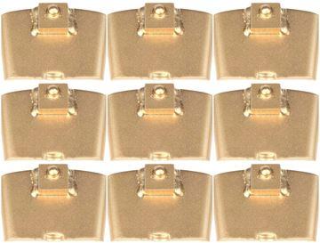 Imagen de Tyrolit 10991635 segmentos de molienda pesada conjunto de 9 piezas. para máquinas FGE250 FGE270 FGE270 FGE400 FGE450 FGE530 y amoladoras de suelo HTC