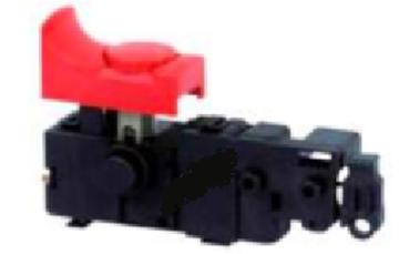 Obrázek vypínač Schalter switch do Bosch GSB 13 RE 16 RE 18-2 1800-2 650 GST 85 PBE S-22 GSB16RE GSB18-2RE PSB750-2RE PSB650RE suP117 PSB700RE PSB7000RE PSB700RES PSB800-2RA nahradí originál 2607200556 2607200506 2607200516 2607200521 2607200542 2607200546 switch schalter interrepteur