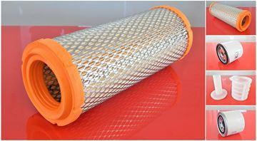 Obrázek servisní sada filtrů filtry pro Komatsu PC35MR-2 GALEO s motorem  3D88E-5P Set1 suP filter filtre