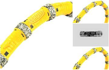 Imagen de juego cable de sierra diamantada Tyrolit 2M1V para sierras de alambre - original Tyrolit DWM *** - C No. 572996 diámetro 10,2 mm Premium ***