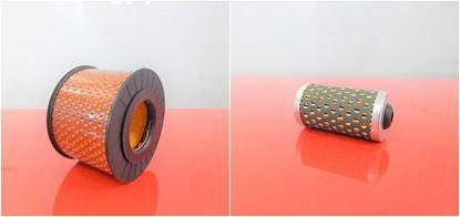 Imagen de filtro para Bomag BPR 30/38 D-2 BPR30/38 D2 with Hatz engine 1B20 1B30 filtro de aire y filtro de combustible / reemplaza la pieza de recambio original SET1