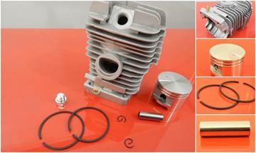 Obrázek píst válec Stihl TS 360 TS360 49 mm nahradí original AKCE GRATIS OLEJ pro 5L paliva cylinder zylinder set kit satz