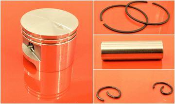 Obrázek píst Stihl TS 350 TS 360 TS350 TS360 49mm nahradí original a olej GRATIS kolben piston set satz kit