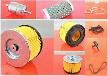 Obrázek servisní opravní sada pro Wacker DPU 3050H DPU 3070H DPU3050H DPU3070H s motorem Hatz - 1x palivový filtr 1x vzduchový filtr 1x potrubní filtr 1x těsnění hlavy 1x klínový řemen - OEM kvalita - nahradí originál čísla Wacker SET1 filter filtre