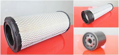 Obrázek servisní sada filtrů filtry pro Wacker - Neuson WL 34 WL34 s motorem Perkins 404F22 Set1 filter filtre