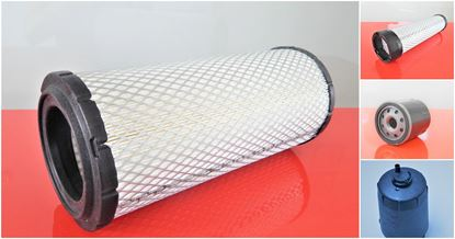 Obrázek SET2 servisní sada filtrů filtry pro Wacker - Neuson WL 34 WL34 s motorem Perkins 404F22 filter filtre luftfilter patrone kraftstoff öl airfilter fuel oil air-safety filter