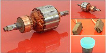 Picture of armature rotor HILTI TE52 TE 52 TE 42 TE42 replace origin 74461/5 / maintenance repair service kit high quality / carbon brushes and grease FREE