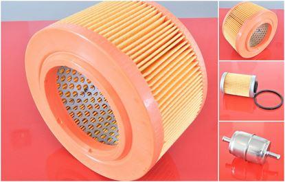 Obrázek servisní sada filtrů filtry vzduchový olejový palivový pro Ammann AVH6020 s motorem Hatz 1D81S Set1 filter filtre AVH 6020 ölfilter kraftstofffilter luftfilter air fuel oil