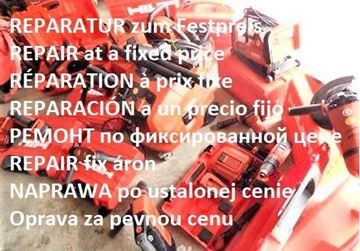 Bild von Hilti TE54 TE504 TE505 TE55 TE74 TE75 TE704 TE705 TE 54 504 55 505 74 75 705 Reparatur Festpreis inkl. Ersatzteile mit Garantie - es werden nur hochwertige Ersatzteile verbaut