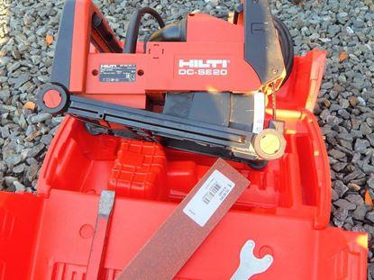 Bild von HILTI DCSE 20 DC-SE DC-SE20 DCSE20 DCSE-20 DC SE 20 Schlitzfräse Fräse gebraucht IM TOP Zustand wall chaser