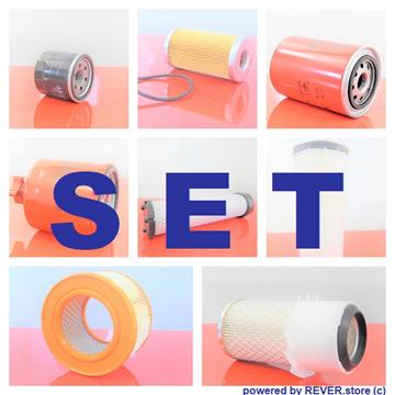 Obrázek servisní sada filtrů filtry pro Komatsu PC20-7 od serie F20001 s motorem  Yanmar Set1 filter filtre