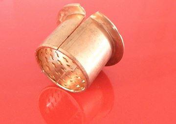 Obrázek osazené bronzové pouzdro pro bagr nakladač stavební stroj 35x39x50x35