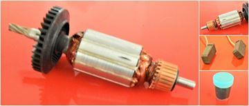 Imagen de rotor de inducido Bosch GGS 27 LC GGS27LC GGS27 reemplazar origen / mantenimiento servicio de reparación kit de alta calidad / escobillas de carbono y grasa GRATIS