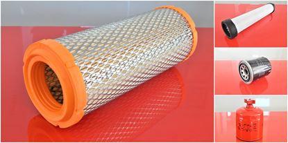 Obrázek servisní sada filtrů filtry pro Bobcat 463 s motorem Kubota D1005-E2B Set1 filter filtre suP