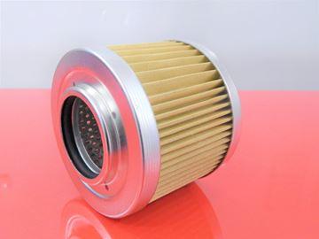 Obrázek hydraulický filtr-sací filtr pro Yanmar minibagr VIO 70 VIO70 motor Yanmar 4TNE98 (60482) filter filtre suP